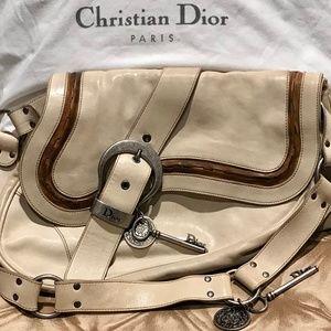 🗝Christian Dior Gaucho Double Saddle Handbag🗝